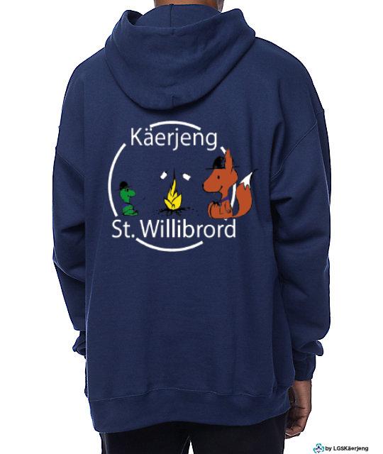 ELO GANZ NEI!!           Pullover vun de Käerjenger Guiden a Scouten